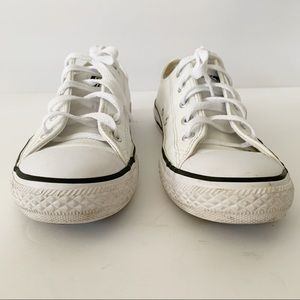 Converse Chuck Taylor All Star Lo White Leather
